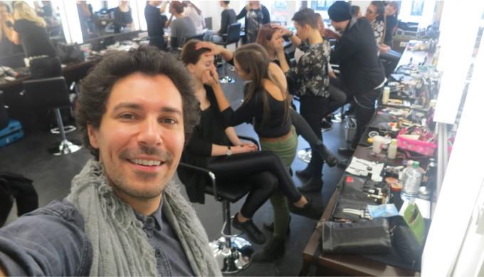 Gast Dozent Boris Entrup in der Famous Face Academy